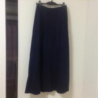 ホコモモラ(Jocomomola)のホコモモラ ロングスカート ブラック(ロングスカート)