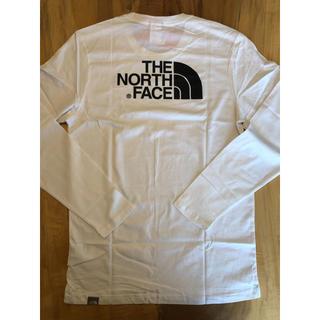 ザノースフェイス(THE NORTH FACE)の【Lサイズ】The North Face ロンT ノースフェイス ホワイト(Tシャツ/カットソー(七分/長袖))