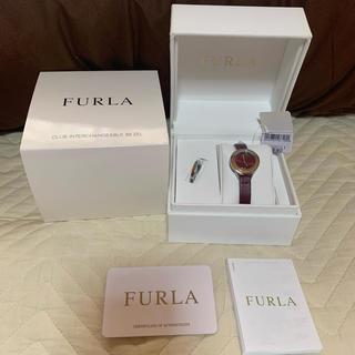 フルラ(Furla)のフルラ  腕時計 ボルドー 赤(腕時計)
