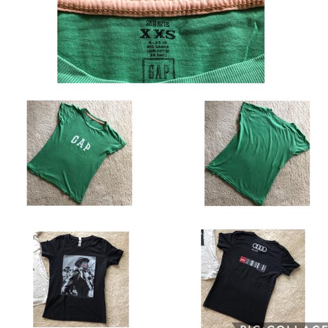Kai Lani(カイラニ)の(おまけ Tシャツ付)カイラニ マウジー GAP  Tシャツセット レディースのトップス(Tシャツ(半袖/袖なし))の商品写真