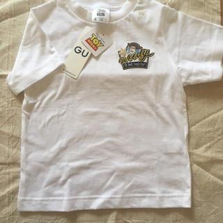 GU - トイストーリー ウッディ Tシャツ