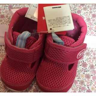 mikihouse - 新品 ミキハウス 靴 サンダル 13cm