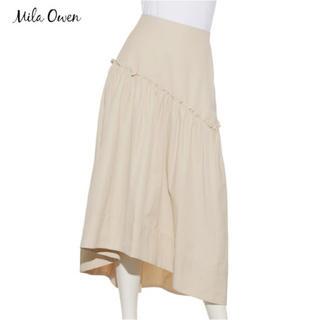 ミラオーウェン(Mila Owen)のミラオーウェン Mila Owen 切り替えデザインロングテールスカート(ロングスカート)