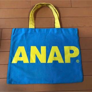 アナップ(ANAP)のトートバッグ バッグ anap ブルー エコバッグ(トートバッグ)