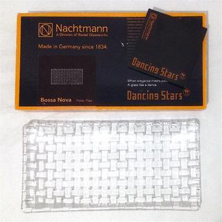 ナハトマン(Nachtmann)のナハトマン ボサノバ レクタングル プレート 28cm クリア クリスタル(食器)