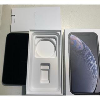 アップル(Apple)の【中古】IPhone XR 128gb 物理Dual sim 楽天◯ AU✖︎(携帯電話本体)