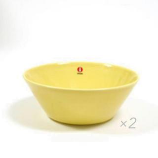 イッタラ(iittala)のイッタラ ボウル 15cm イエロー 2個 ひよこ色 廃盤(食器)