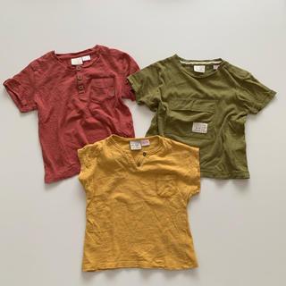 ザラキッズ(ZARA KIDS)のZARA BABY BOY Tシャツ3枚セット(Tシャツ)