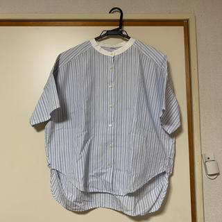 パーリッシィ(PAR ICI)のPAR ICI ストライプ半袖シャツ(シャツ/ブラウス(半袖/袖なし))