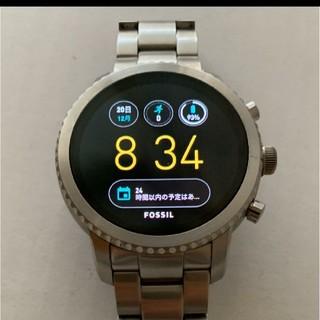 フォッシル(FOSSIL)のフォッシル Q(FOSSIL Q)スマートウォッチ(腕時計(デジタル))