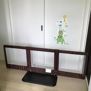 ニホンイクジ(日本育児)のおくだけとうせんぼ Lサイズ(ベビーフェンス/ゲート)