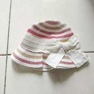 ボンポワン(Bonpoint)の新品ソニアリキエル 紙製 ハット イタリア製 Sonia Rykiel(帽子)