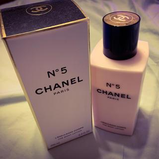 シャネル(CHANEL)のCHANEL N°5 ボディクリーム ローション(ボディローション/ミルク)