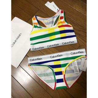 カルバンクライン(Calvin Klein)の新品未使用☆Calvin Klein☆ブラ&ショーツセット(ブラ&ショーツセット)