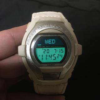 ジーショック(G-SHOCK)のG-SHOCK CASIO  G-COOL  Gショック カシオ ホワイト難あり(腕時計(デジタル))