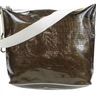 フェンディ(FENDI)のFENDI ブラックスケルトン メッセンジャーバッグ 新品未使用(メッセンジャーバッグ)