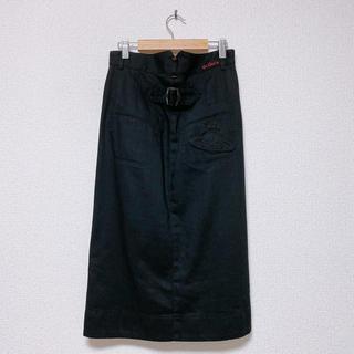 ヴィヴィアンウエストウッド(Vivienne Westwood)のVivienne Westwood red label デニムスカート(ひざ丈スカート)