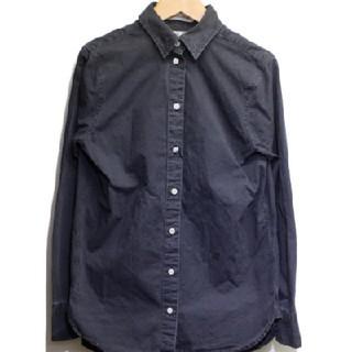 マディソンブルー(MADISONBLUE)の新品 マディソンブルー ブラック シャツ01(シャツ/ブラウス(長袖/七分))