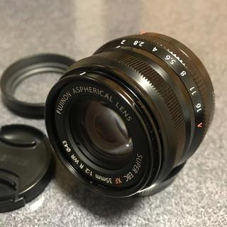 フジフイルム(富士フイルム)のfujifilm xf35mm f2(レンズ(単焦点))