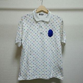 アベイシングエイプ(A BATHING APE)のA BATHING APE 半袖鹿の子ポロシャツ(ポロシャツ)