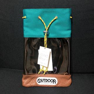 ロンハーマン(Ron Herman)のロンハーマン outdoor コラボ ビニール バック 新品(ハンドバッグ)