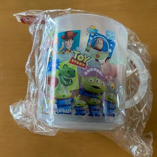 トイストーリー(トイ・ストーリー)のディズニー トイストーリー コップ&コップ袋(マグカップ)
