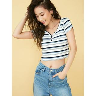 ジェイダ(GYDA)のGYDA ヘンリーネックTシャツ(Tシャツ/カットソー(半袖/袖なし))