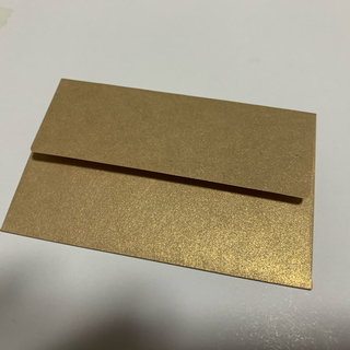 ミニ封筒 クラシッククラフトゴールド 30枚(カード/レター/ラッピング)