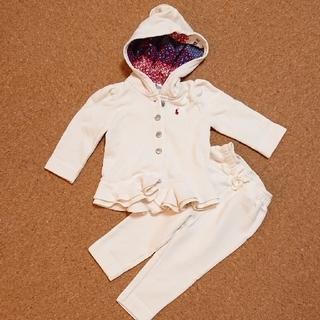ラルフローレン(Ralph Lauren)のフード付きパーカー&パンツ 裏起毛(ジャケット/コート)