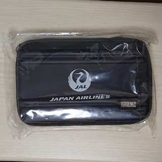 ゼロハリバートン(ZERO HALLIBURTON)のJAL 日本航空 ビジネスクラス アメニティ ブラック色(旅行用品)