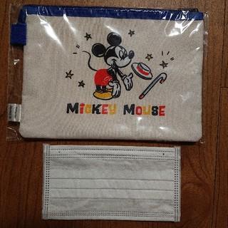 ミッキーマウス - (新品未使用) ミッキー クリアポーチ