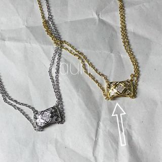 L'Appartement DEUXIEME CLASSE - j382.coco crush zircon necklace(gold)