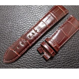 腕時計用の交換ベルト■牛革ベルト(型押し)定価¥8000