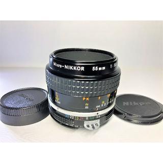 ニコン(Nikon)のニコン Ai micro Nikkor 55mm F3.5(デジタル一眼)