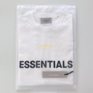 フィアオブゴッド(FEAR OF GOD)のFear Of God Essentials 20ss Tシャツホワイト XS(Tシャツ/カットソー(半袖/袖なし))