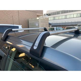 ビーエムダブリュー(BMW)のMINI R55用 ベースサポートルーフキャリア(車種別パーツ)