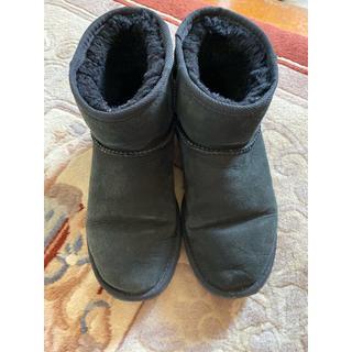 アグ(UGG)のUGG ムートンブーツ 黒💕(ブーツ)