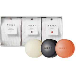 スリー(THREE)の⭐︎新品未使用 THREE ホリスティックソープセット4397(ボディソープ/石鹸)