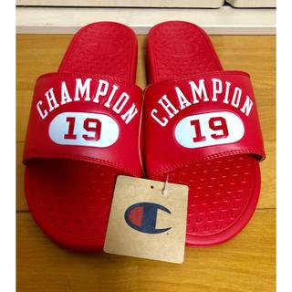 チャンピオン(Champion)の海外限定 champion チャンピオン サンダル 赤 27cm(サンダル)