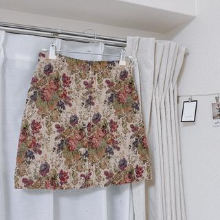 INGNI - 量産型 スカート 花柄 刺繍