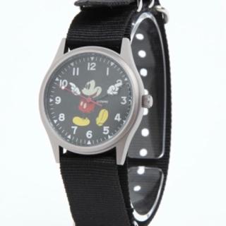 ユナイテッドアローズ(UNITED ARROWS)のミッキーマウス腕時計 ユナイテッドアローズコラボ 新品未使用品(腕時計)
