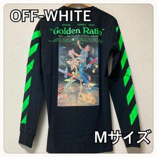 オフホワイト(OFF-WHITE)の【新品送料込】OFF-WHITE Golden Ratio プリント Tシャツ(Tシャツ/カットソー(七分/長袖))
