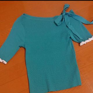 アンドクチュール(And Couture)のアンドクチュール  サマーニット(カットソー(半袖/袖なし))