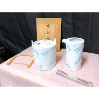 未使用 箱付き 有田焼 水割りセット観山造 陶磁器(食器)