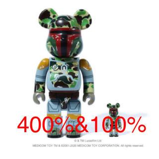 メディコムトイ(MEDICOM TOY)のSTAR WARS X BAPE® ABC BE@RBRICK 100%400%(その他)