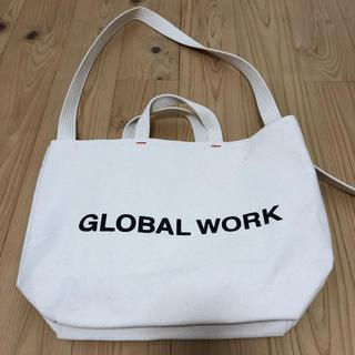 グローバルワーク(GLOBAL WORK)のGLOBAL WORK トートバッグ(トートバッグ)