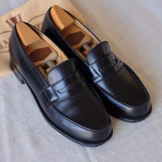 ジェーエムウエストン(J.M. WESTON)の極美品ジェイエムウエストン シグニチャーローファー 2/5C 専用キーパー付き(ローファー/革靴)