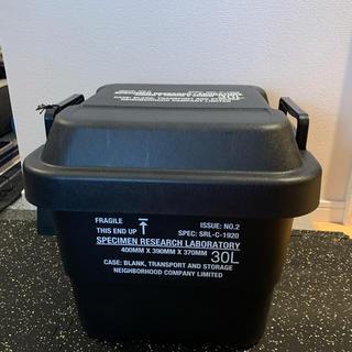 ネイバーフッド(NEIGHBORHOOD)のネイバーフット×SRL BOX 30L(ケース/ボックス)