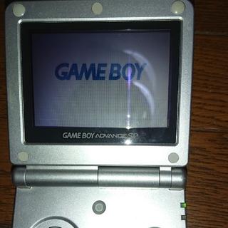 ゲームボーイアドバンス(ゲームボーイアドバンス)のゲームボーイアドバンスSP シルバー ソフトセット(携帯用ゲーム機本体)