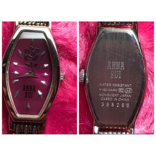 アナスイ(ANNA SUI)のアナスイ 一輪の薔薇 腕時計 電池交換済み 直ぐに使用可能(腕時計)